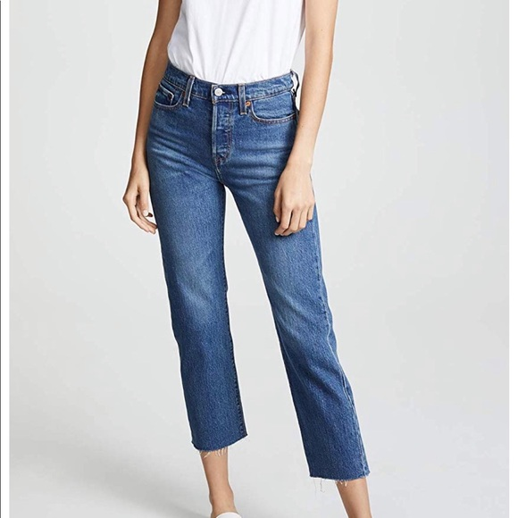 Levi's Denim - Levi's straight wedgie jeans
